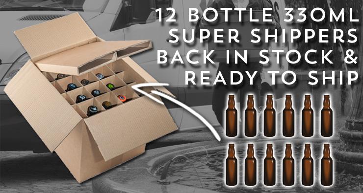 Buy 330ml Super Shipper Boxes Now