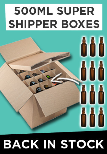 Buy 500ml Super Shipper Boxes Now