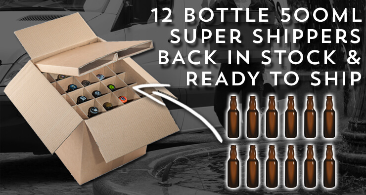 Buy 500ml Super Shipper Boxes Now