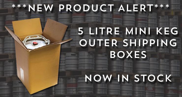 Buy 5L Mini Keg Shipper Boxes Here