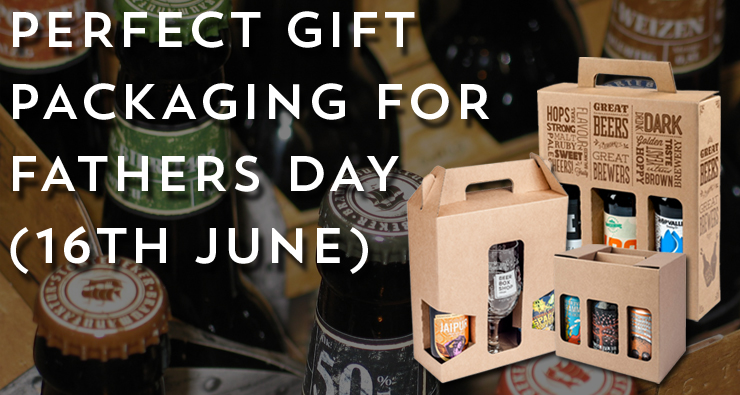 Browse our packaging for Fathers Day