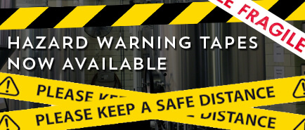 Browse our range of Hazard Warning Tapes