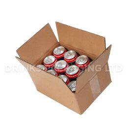 Double Wall Box for 12 x 330ml Beer Cans | Beer Box Shop