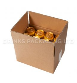 Double Wall Box for 12 x 440ml Beer Cans | Beer Box Shop