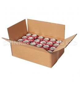 Double Wall Box for 24 x 330ml Beer Cans | Beer Box Shop