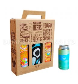 3 Can - 'Great Beers from Great Brewers' Gift Box - 440/500ml Front | Beer Box Shop
