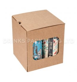 4 Can Cube - Gift Box - 330ml / 440ml | Beer Box Shop