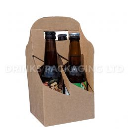 4 Bottle and Can - American style carrier - 330ml | Beer Box Shop