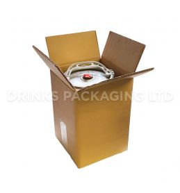 Mini Keg Outer Shipping Box - 5L | Beer Box Shop