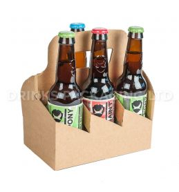 6 Bottle and Can - American style carrier - 330ml | Beer Box Shop