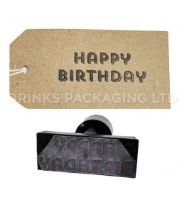 Happy Birthday | Generic Message Stamp | Beer Box Shop