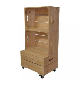 Large Two Crate Shelving Unit | Beer Box Shop