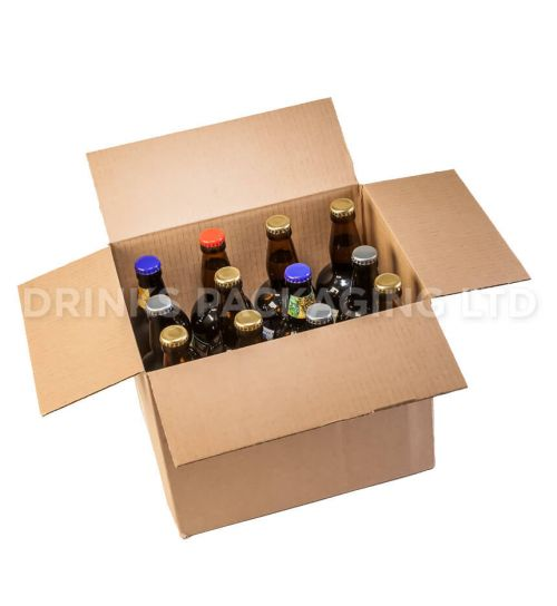 12 bottle trade/self delivery box | Standard - 500ml | Beer Box Shop