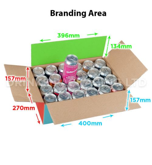 24 Can - Trade / Self Delivery Box - 440ml | Beer Box Shop