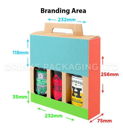3 Bottle - Gift Box - 500ml | Branding Area