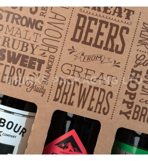 3 Bottle - 'Great Beers from Great Brewers' Gift Box - 500ml Closeup | Beer Box Shop