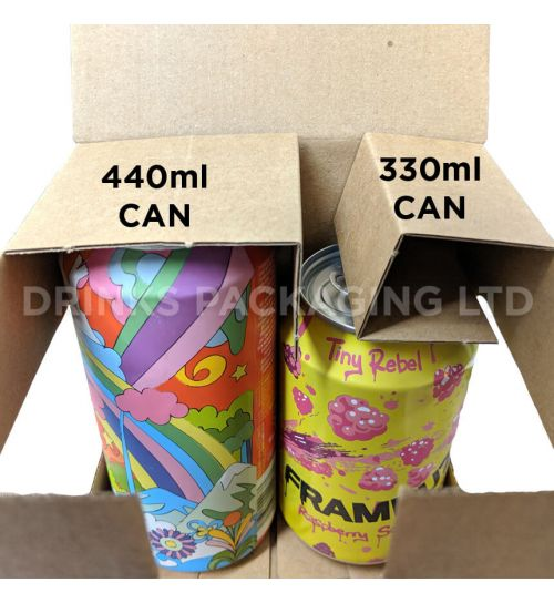 4 Can Cube - Gift Box - 330ml / 440ml | Beer Box Shop