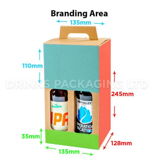 4 Bottle - Gift Box - 330ml | Branding Area
