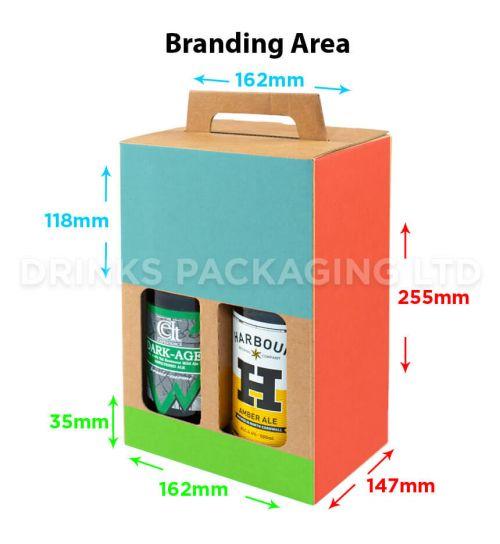 4 Bottle - Gift Box - 500ml | Branding Area