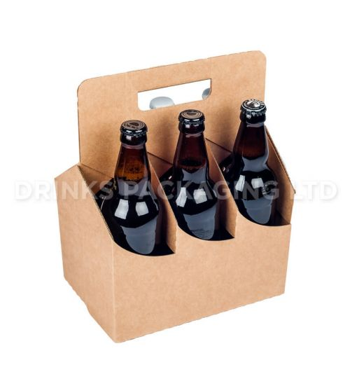 6 Bottle and Can - American style carrier - 500ml | Beer Box Shop