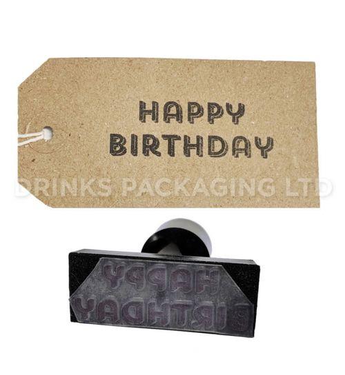 Happy Birthday | Generic Message Stamp | Beer Box Shop