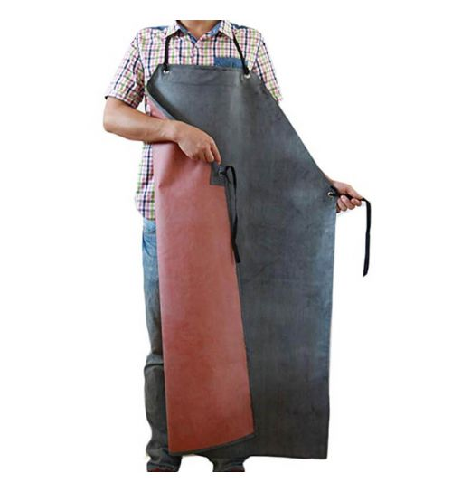 Nanxson Protective Working Apron | Black & Red | Beer Box Shop