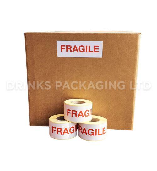 Fragile Warning Labels   Beer Box Shop