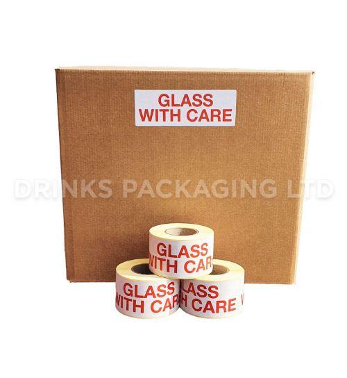 Fragile Warning Labels | Beer Box Shop